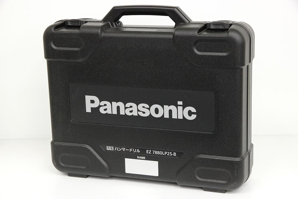 パナソニック 充電ハンマードリル EZ7880LP2S-B 黒
