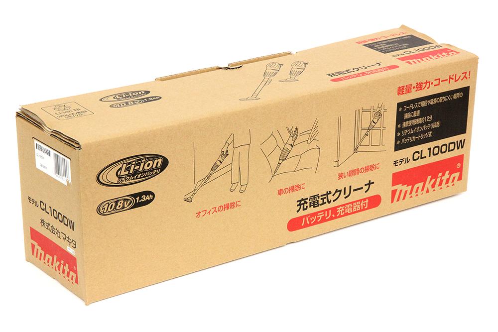 マキタ 10.8V 充電式クリーナ CL100DW 1.3Ah