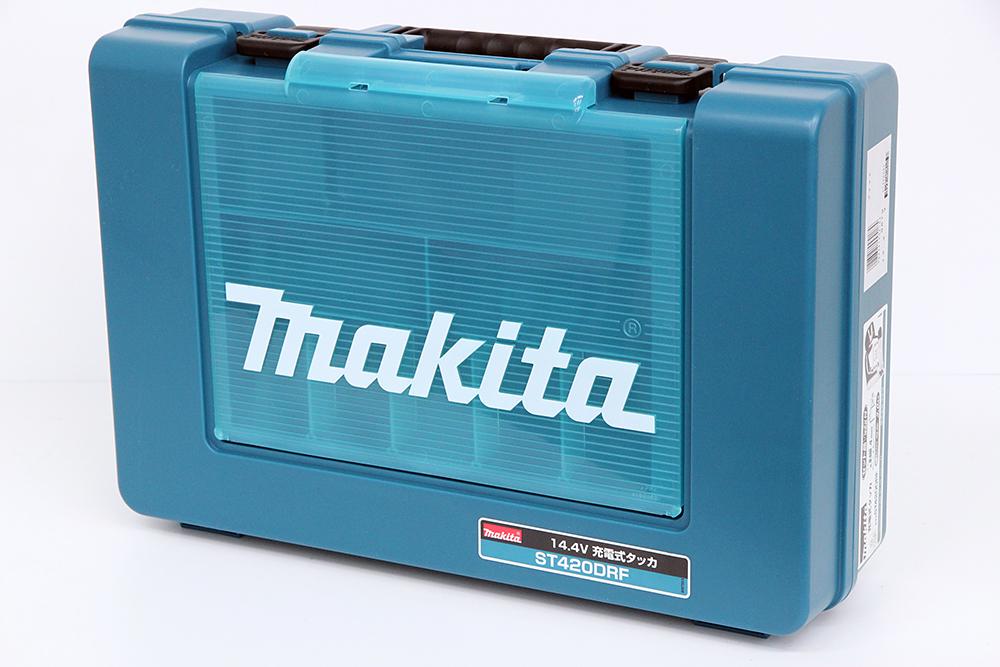 マキタ 充電式タッカ ST420DRF ステープル肩幅4mm 14.4V 3.0Ah