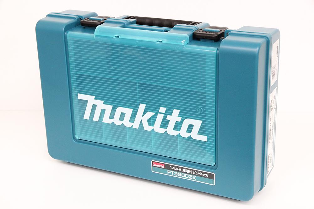 マキタ 充電式ピンタッカ PT350DZK 本体のみ ケース付き