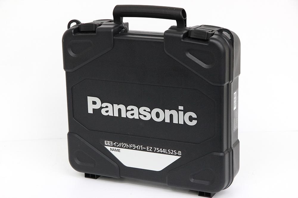 パナソニック 充電インパクトドライバー EZ7544LS2S-B 黒