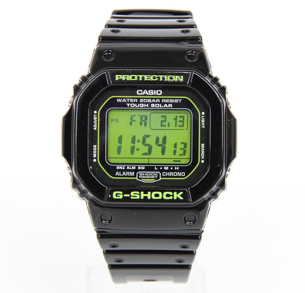 G-SHOCK G-5600B-1 タフソーラー