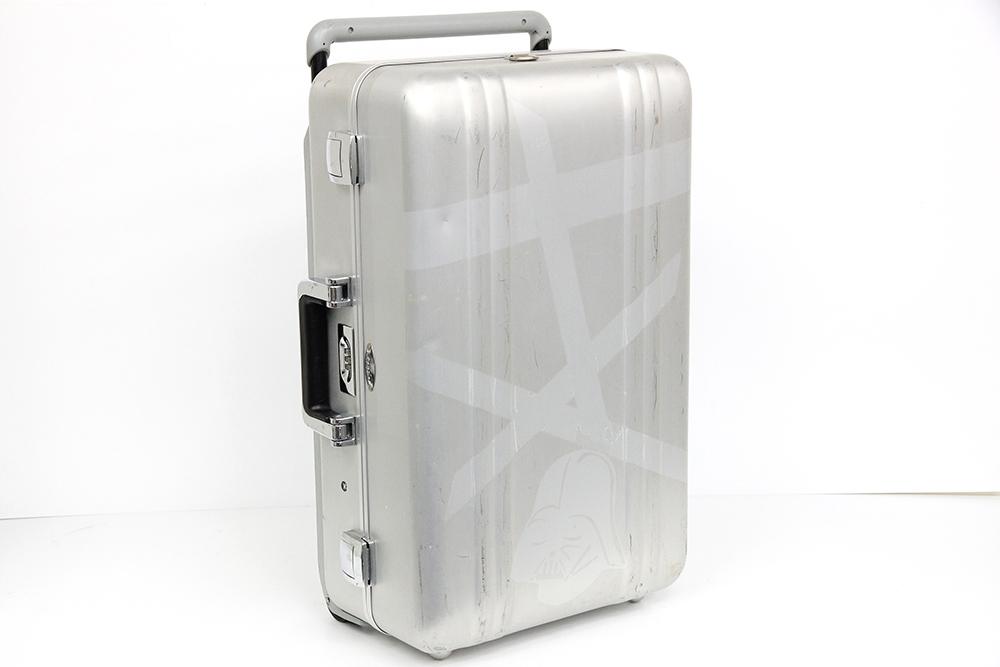 ゼローラー 2輪 アルミ スーツケース