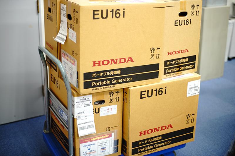 Honda EU16i T1 JN3 インバーター発電機