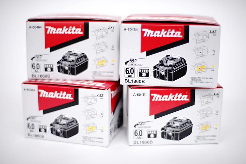 Makita BL1860B 充電式リチウムイオンバッテリー