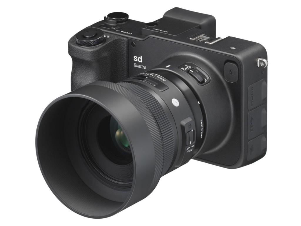 SIGMA sd Quattro 30mm F1.4 DC HSM Art Lens Kit
